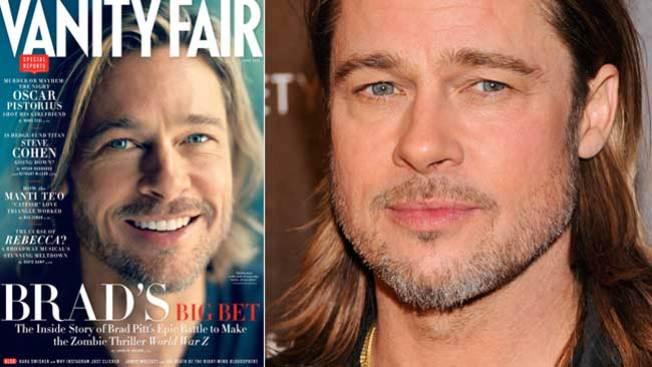 """Brad Pitt deslumbra en """"Vanity Fair"""""""