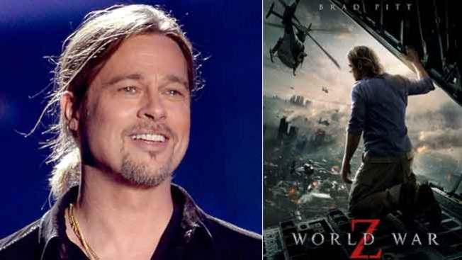 """Brad Pitt estrena """"World War Z"""""""