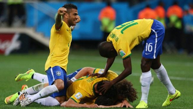 Mundial: Brasil se lleva el primer partido