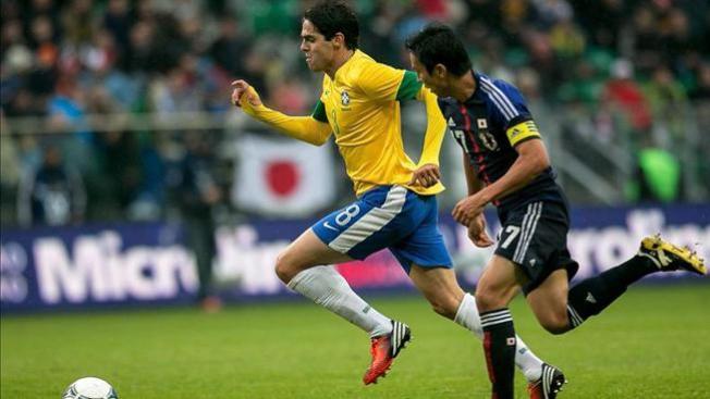 Brasil aplasta a Japón