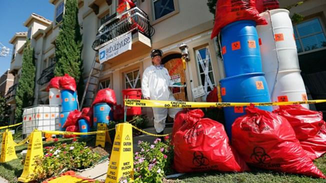 La casa del ébola fue un gran éxito