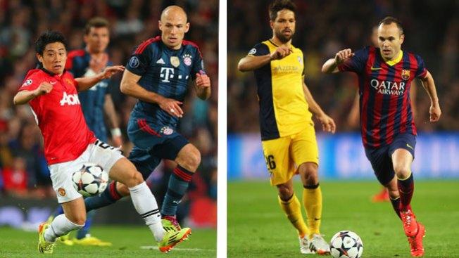 Champions: dos empates, nada decidido