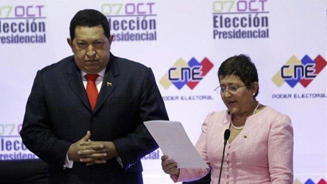 Chávez proclamado ganador