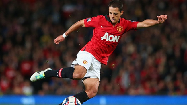 Chicharito da la victoria al United