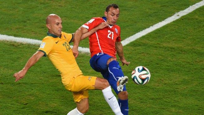 Chile se impone sobre Australia 3-1
