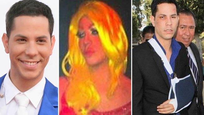 Pleito de Christian Chávez, ¿por vestirse de mujer?