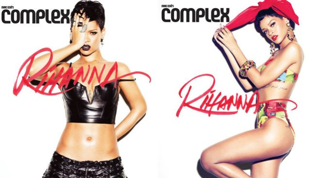 """""""Un buen ángulo"""" de Rihanna"""