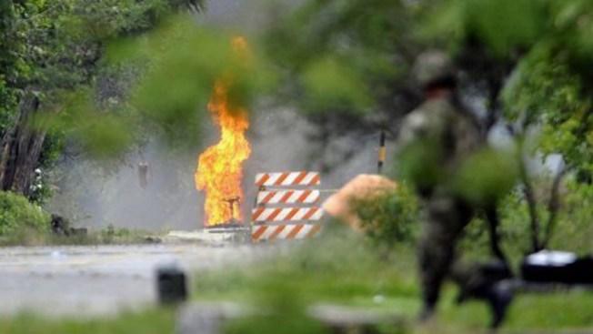 Las FARC mataron un policía e hirieron a cinco