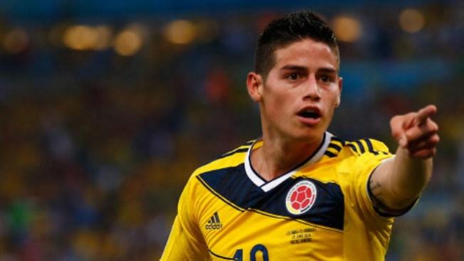 El mejor gol del año, ¿el de James?