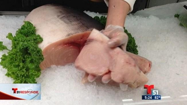 Alertan del mercurio en ciertos pescados