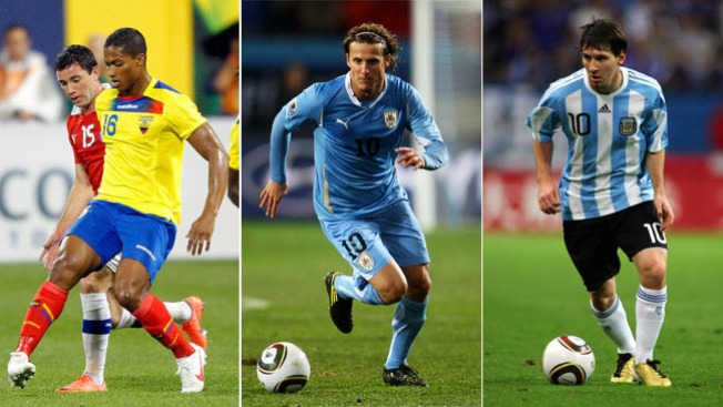 CONMEBOL: tres luchan por el liderato