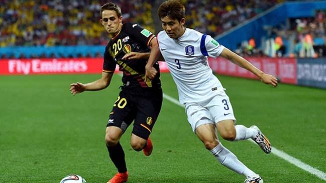 Bélgica vs. Corea del Sur: 1-0