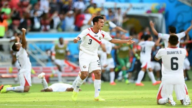 Costa Rica pasa a octavos de final