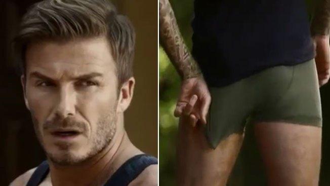 David Beckham, ¡sin ropa y desesperado!
