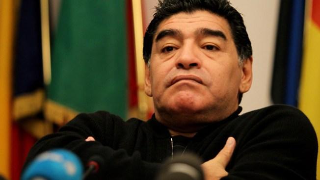 Maradona apoya a Maduro