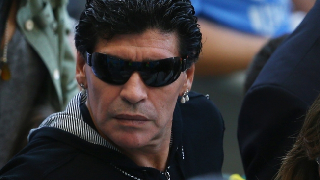 VIDEO: Maradona golpeando a novia