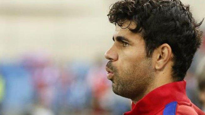Tras la polémica, Diego Costa no juega