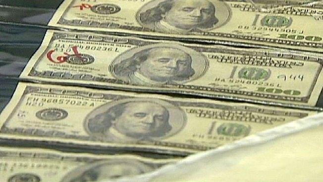 Hacían dinero falso con billetes reales