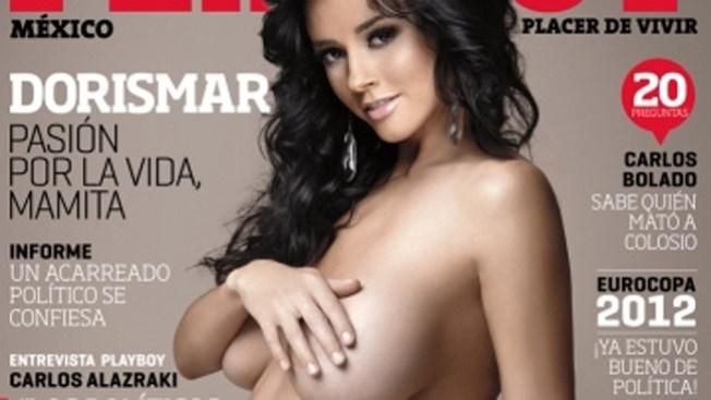 Dorismas se luce embarazada y desnuda