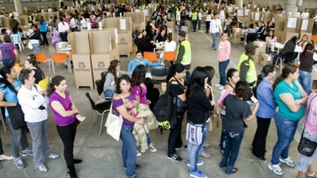Revoltosos detenidos en Colombia