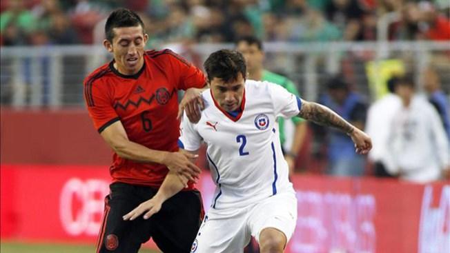 El Tri, Chile empatan en partido amistoso