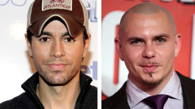 Enrique Iglesias repite éxito con Pitbull
