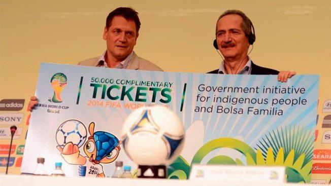 ¡Consigue entradas para el Mundial de Brasil!