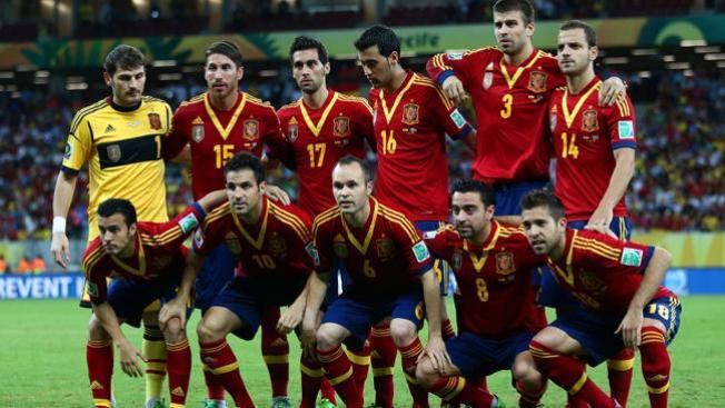 España en samba en la Confederaciones