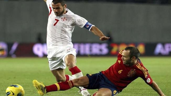 España vence a Georgia
