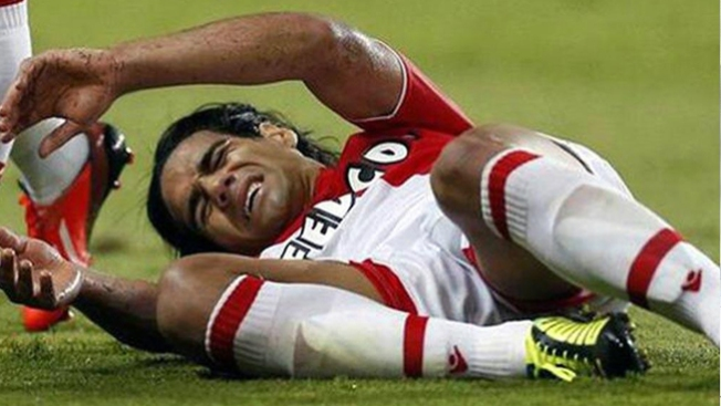 Falcao se podría perder Brasil 2014