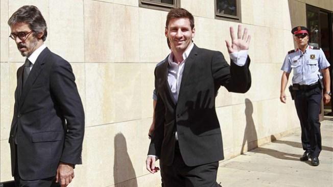 Messi quiere colaborar con la justicia