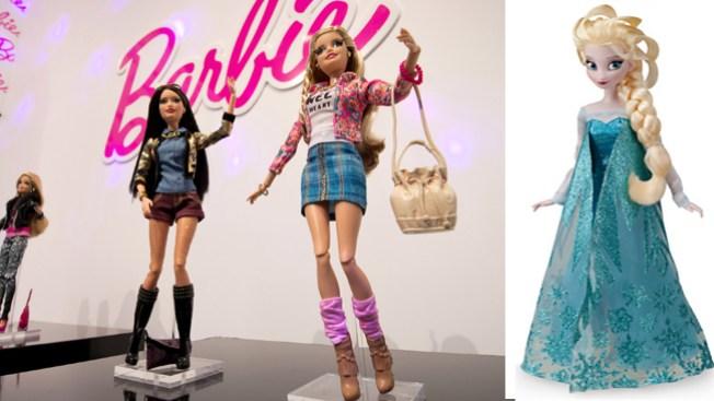 "Elsa de ""Frozen"" destrona a Barbie"