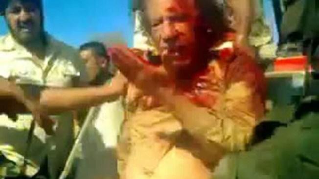 Juzgarían a asesinos de Gadafi