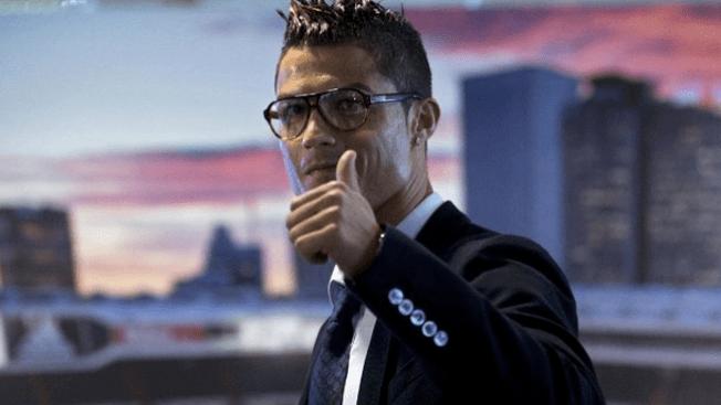 "Ronaldo descubre a su ""gemelo"""