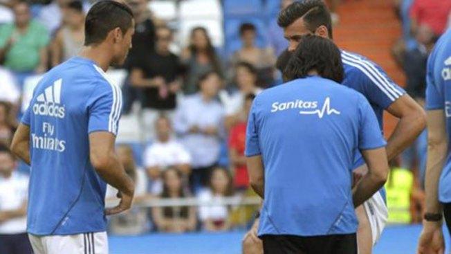 El Madrid arrasa con Bale lesionado