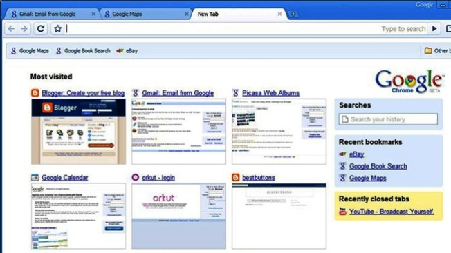 Chrome supera a Internet Explorer