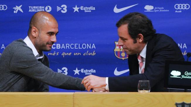 """Guardiola, """"desgastado"""", dice adiós"""