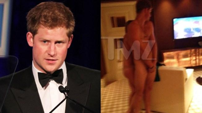 Príncipe se desnuda en Vegas