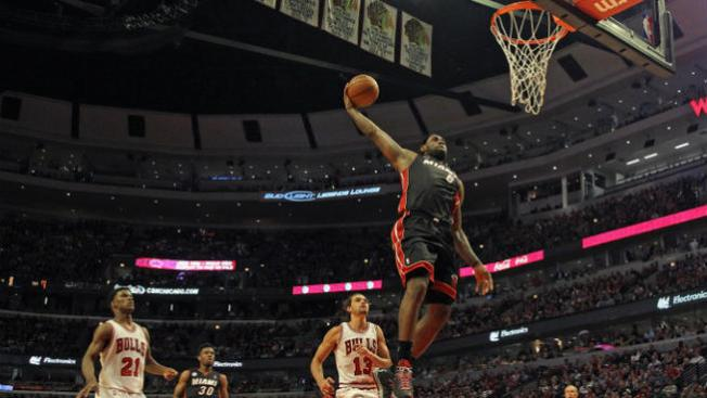 El Heat vuelve a ganarle a los Bulls