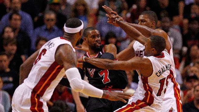 Los Heat sorprenden a los Bulls