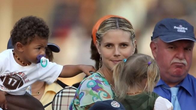 Heidi Klum, la heroína de su hijo