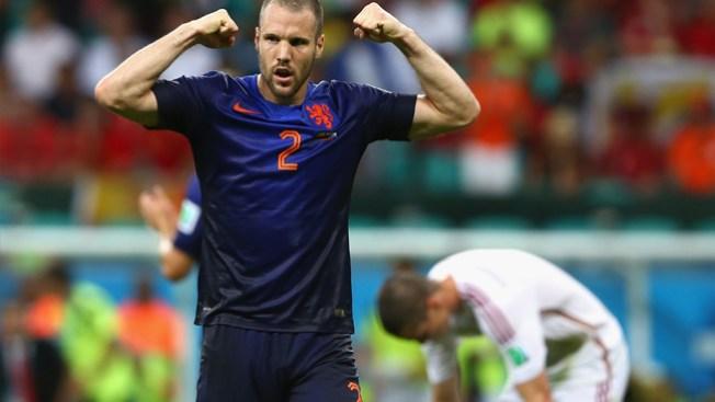 Holanda aplasta a España 5-1