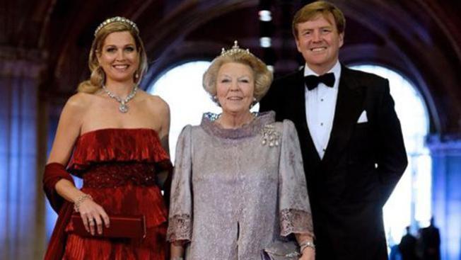 Máxima ya es reina de Holanda
