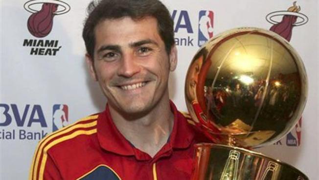"""El mejor """"gol"""" de Iker Casillas"""