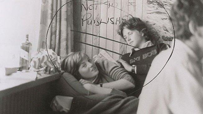 La foto prohibida de Diana