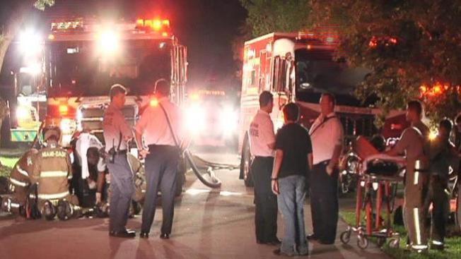 Se incendia casa en Westchester