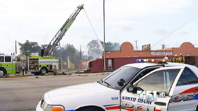 Incendio destruye iglesia