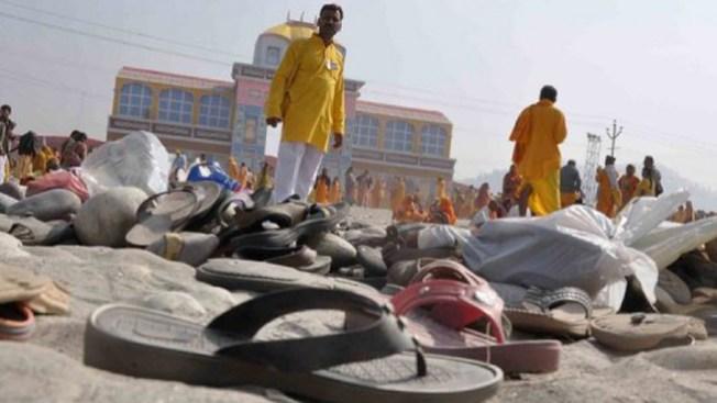 Estampida mortal en la India