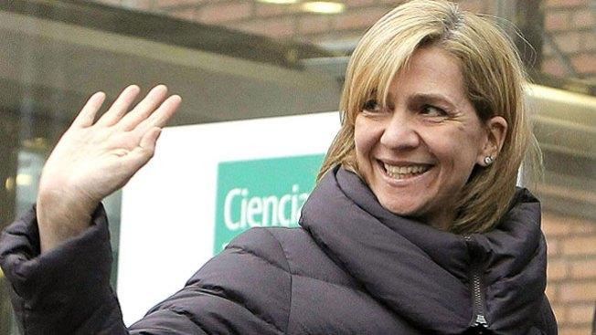 Infanta Cristina: imputada por blanqueo