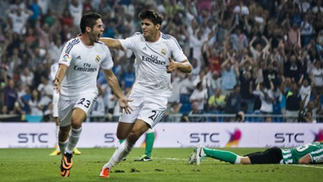 Real Madrid gana con aprietos al Betis
